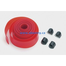 PCA N4 - červená lišta na 4m ráhno