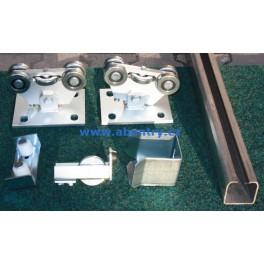 HL P9 KIT - sestava kování pro malou samonosnou bránu