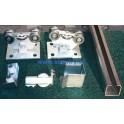 HL PB9 KIT - sestava kování pro malou samonosnou bránu