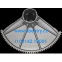 I100142 10001 - rotační ozubená část převodovky závory