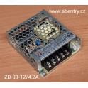 ZD 03-12/4,2A - zdroj 12V