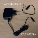ZD 01-12/1A - zdroj 12V