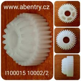I100015 10002/2 - ozubené kolečko, BFT